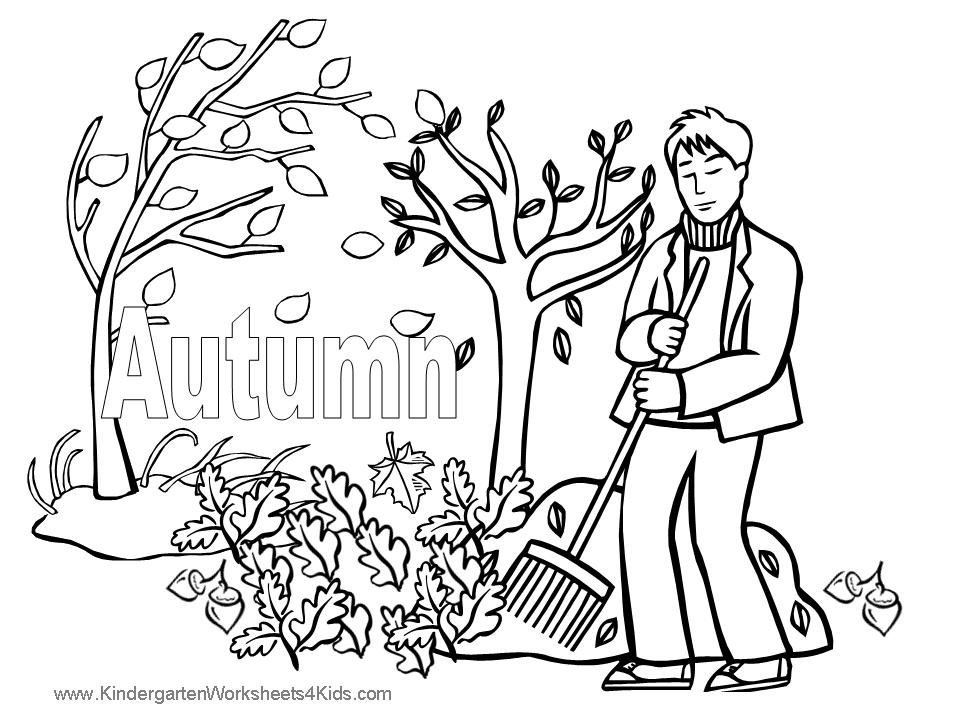 Fall Math Addition Coloring Pages